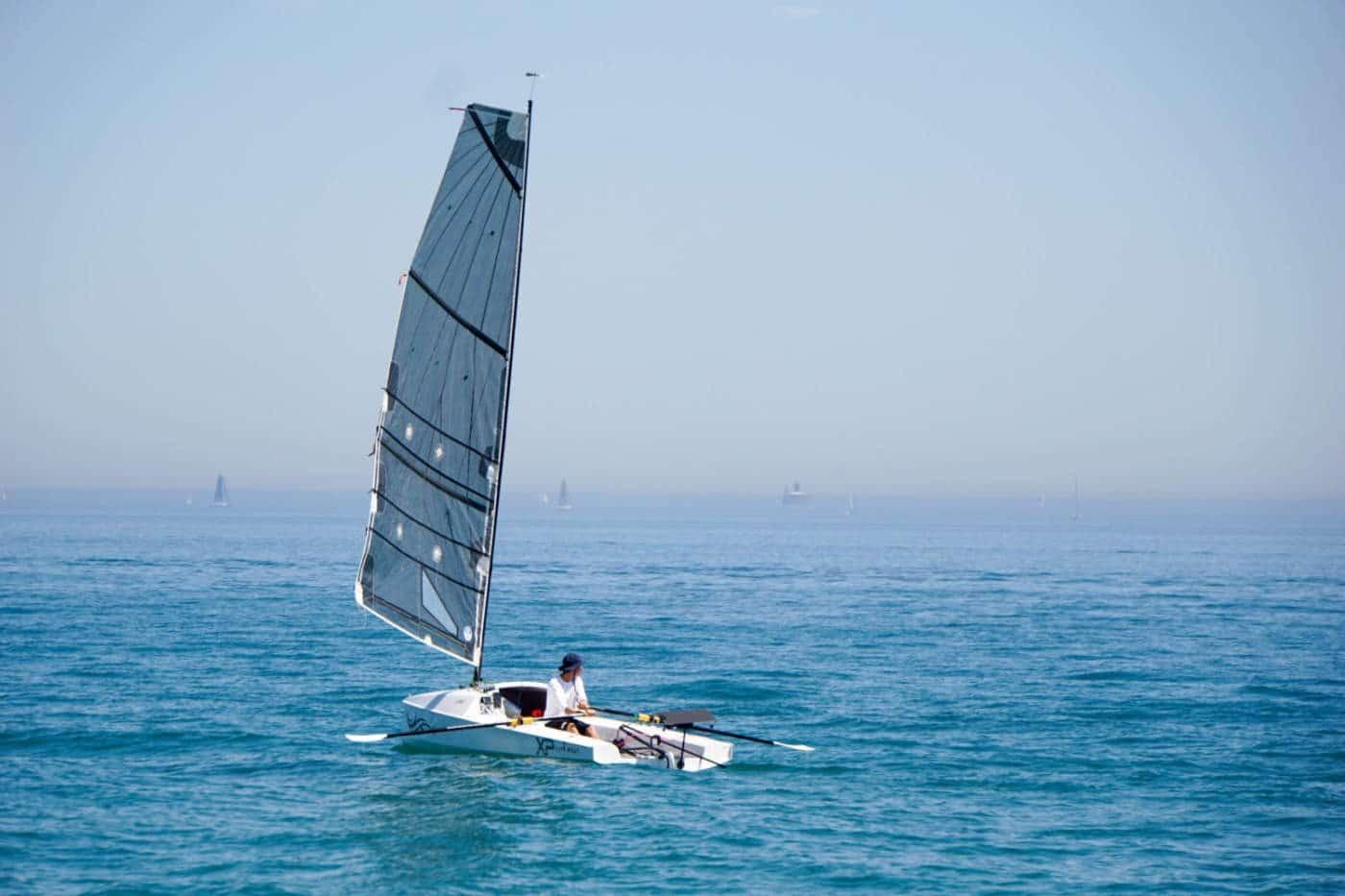 Bateau voile-aviron LiteXP Liteboat